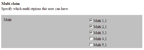 Identify UserProv Discreet Claim  isReadOnly is False  - CSS